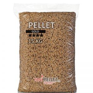 Pellet ze słomy GOLD opak. 15kg (paleta)